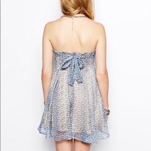 For Love And Lemons Dresses - For love and lemons kiss me dress strapless tie